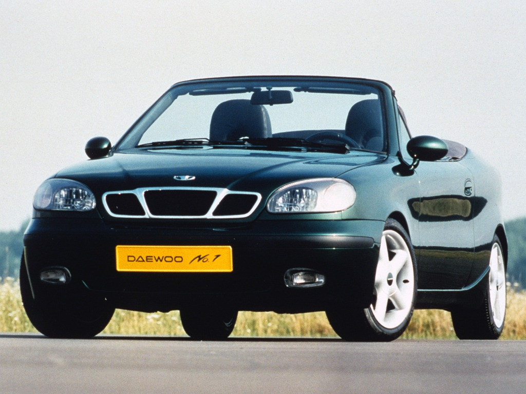 Daewoo No.1 Concept (1995) – Old Concept Cars