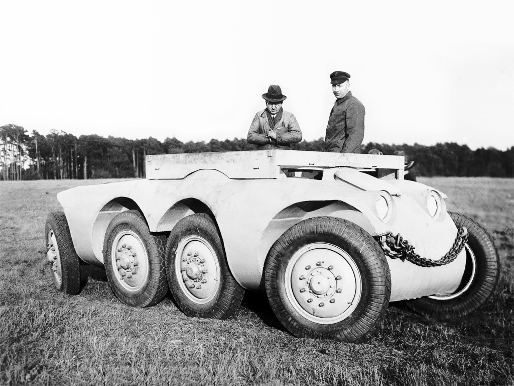 Daimler Benz Arw Old Concept Cars