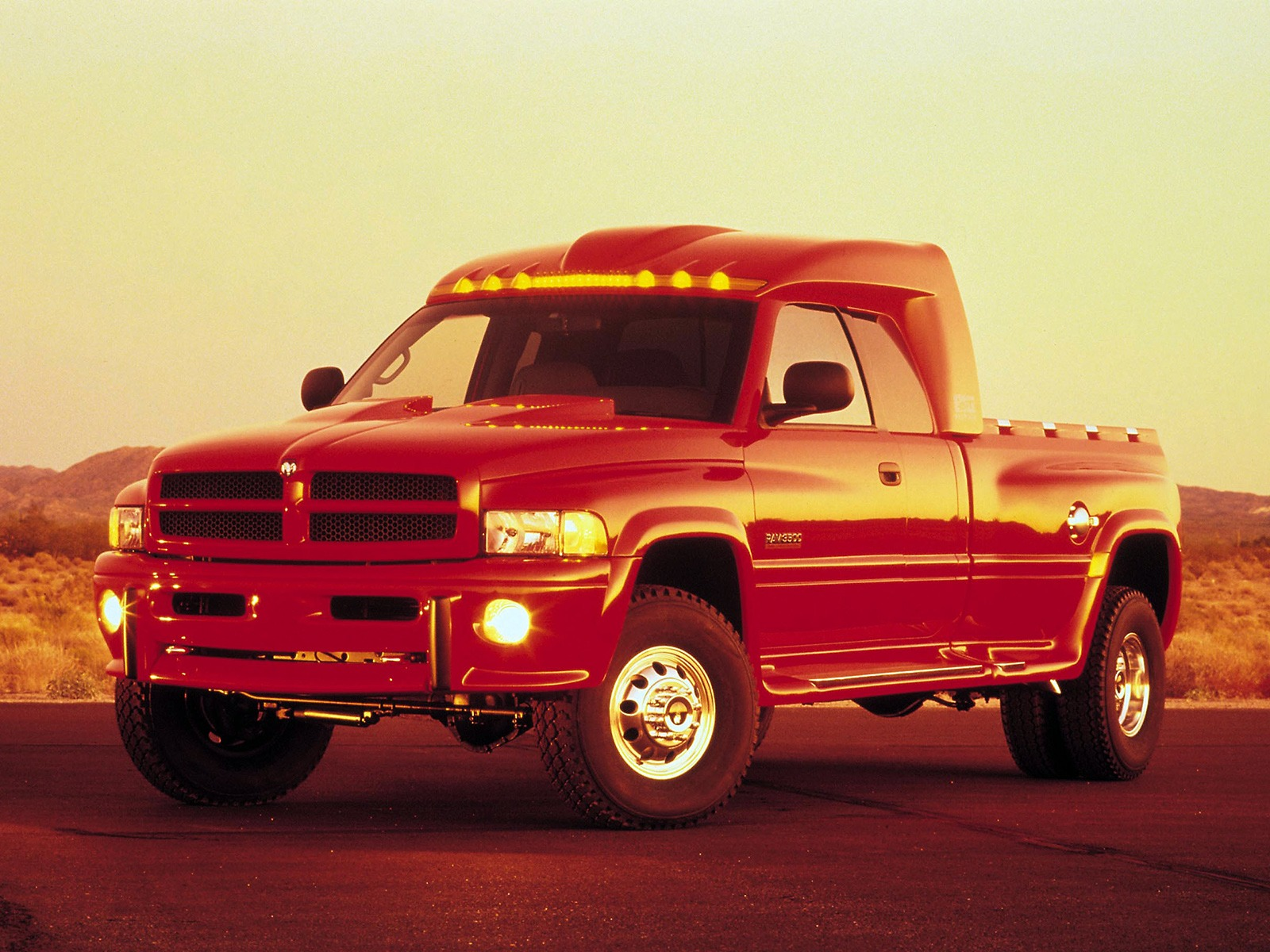 Dodge big red truck concept 2 98concept dodge big red truck concept 4