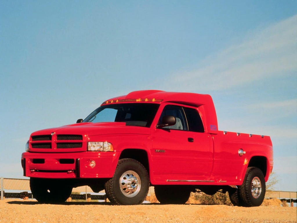 red giant truck - photo #18