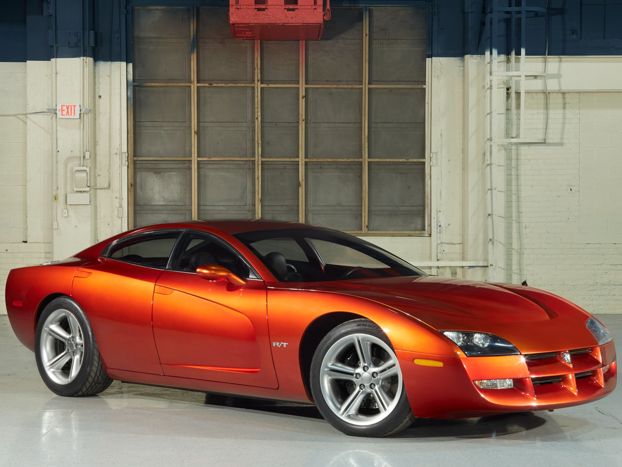 Charger Vs Challenger >> Dodge Charger R/T Concept (1999) – Old Concept Cars