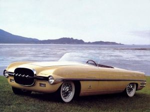 dodge firearrow ii roadster concept car 1 300x225 Dodge Firearrow II Roadster Concept Car (1954)