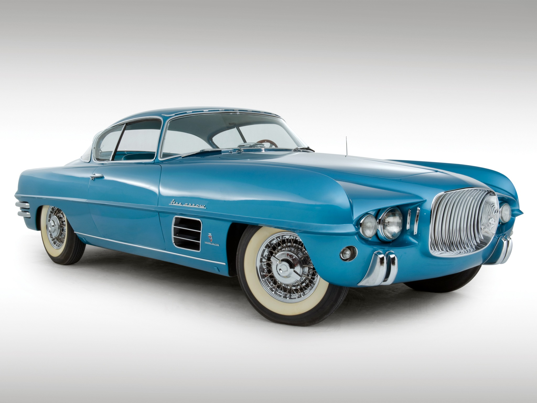 Dodge Firearrow Iii Sport Coupe Concept Car 1954 Old