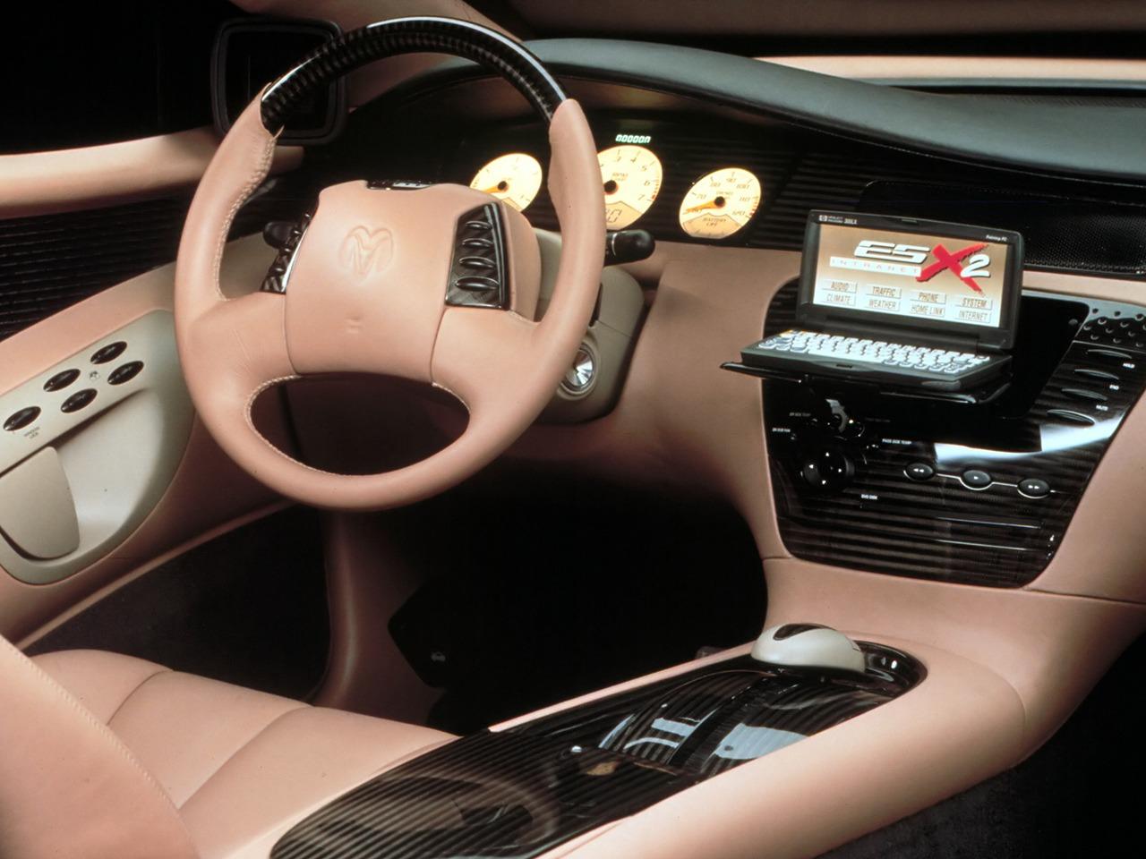 Dodge Intrepid ESX2 Concept (1998) - Old Concept Cars