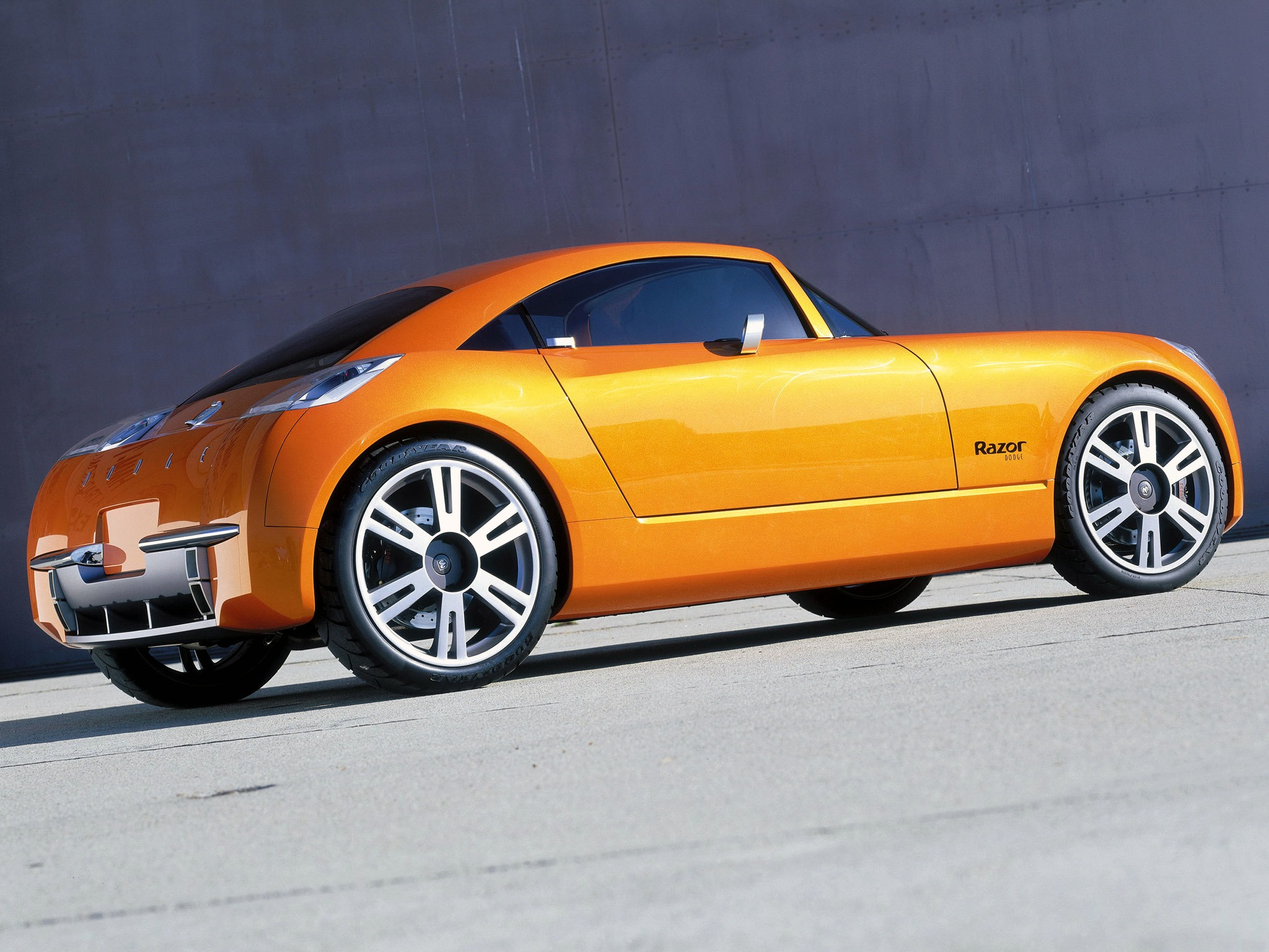 Dodge Razor Concept (2002) – Old Concept Cars