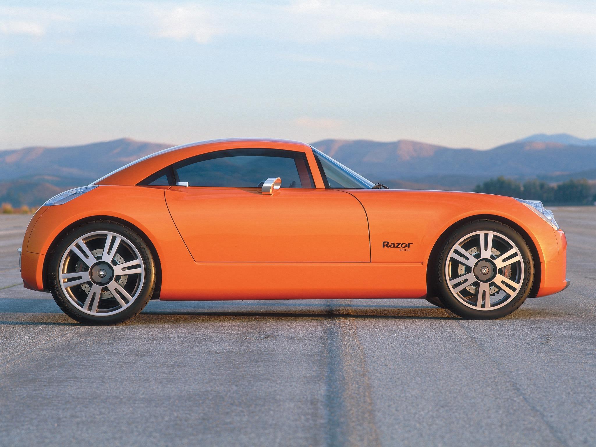 Top 10 Fastest Cars >> Dodge Razor Concept (2002) – Old Concept Cars