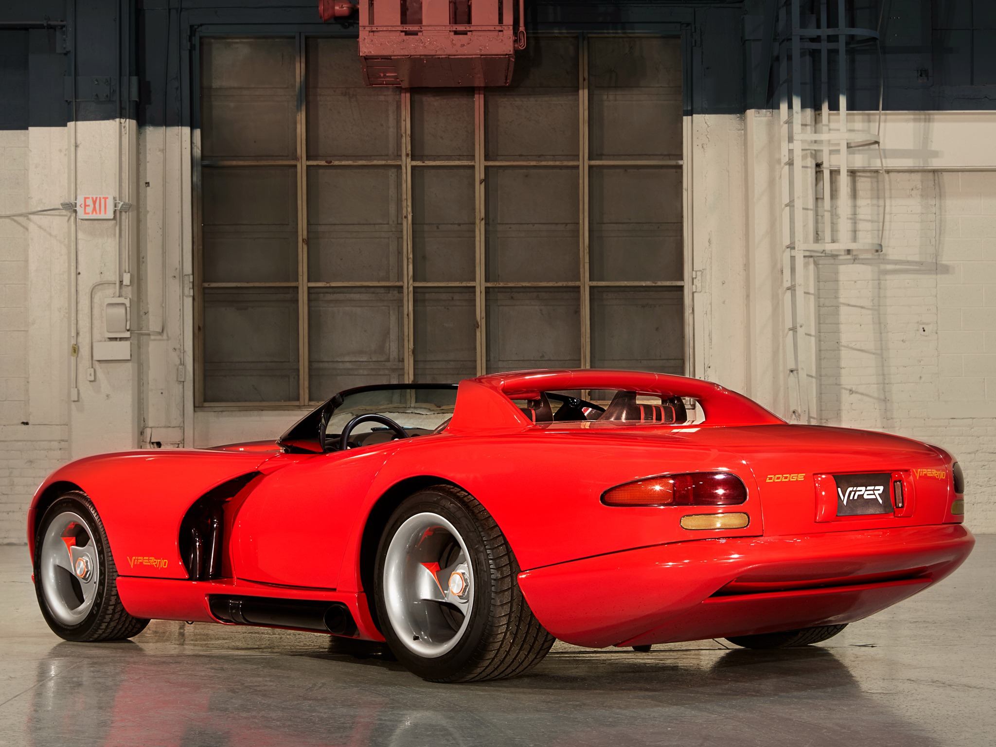 Rt 22 Toyota >> Dodge Viper RT/10 Concept (1989) - Old Concept Cars