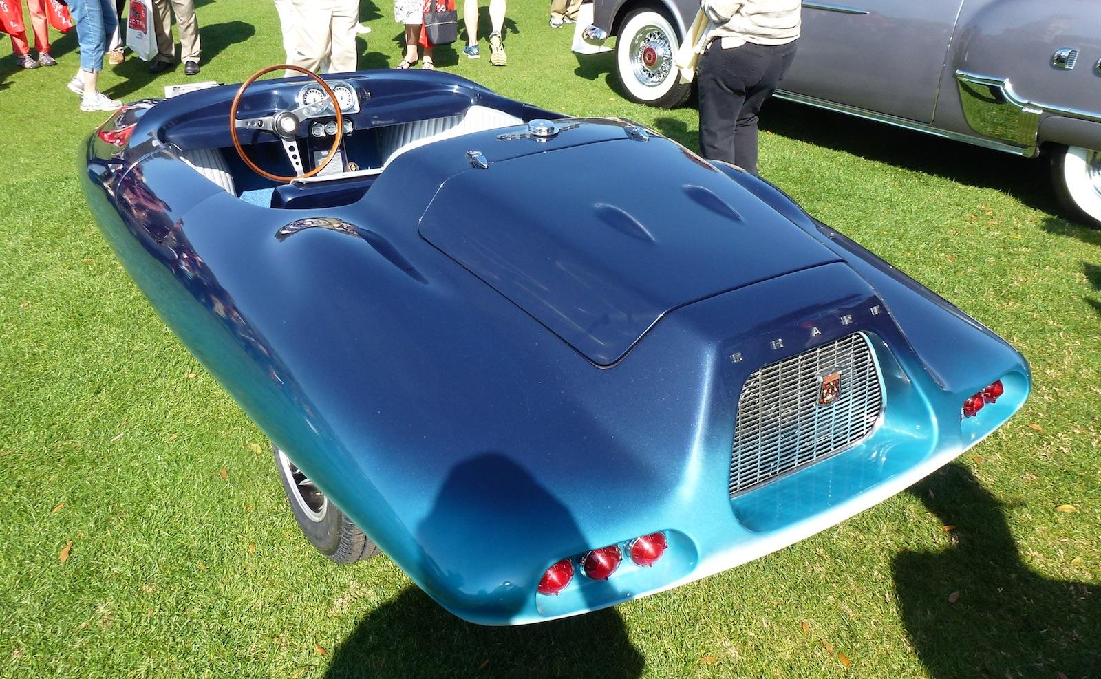 El Tiburon Roadster Shark 1962 Old Concept Cars