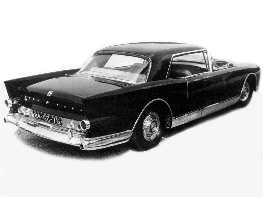 facel vega excellence prototype 1956 old concept cars. Black Bedroom Furniture Sets. Home Design Ideas