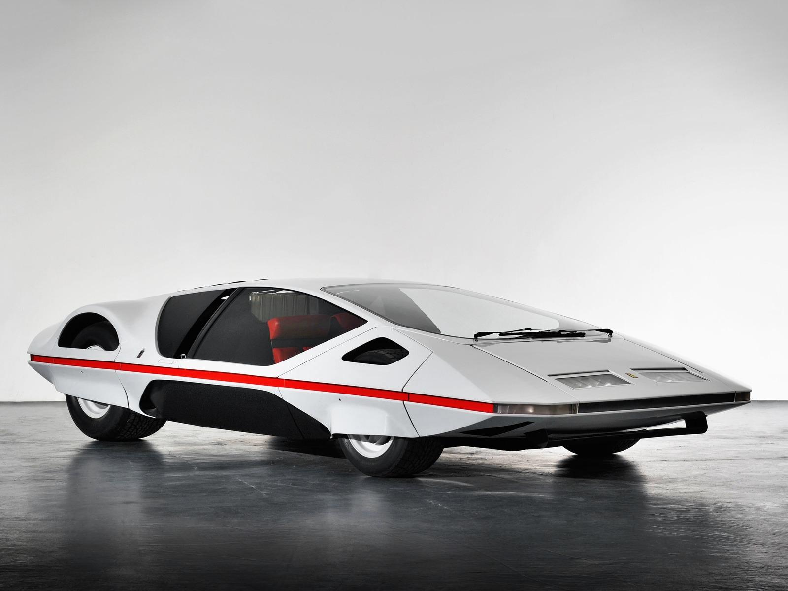Ferrari 512 S Modulo Concept 1970 Old Concept Cars