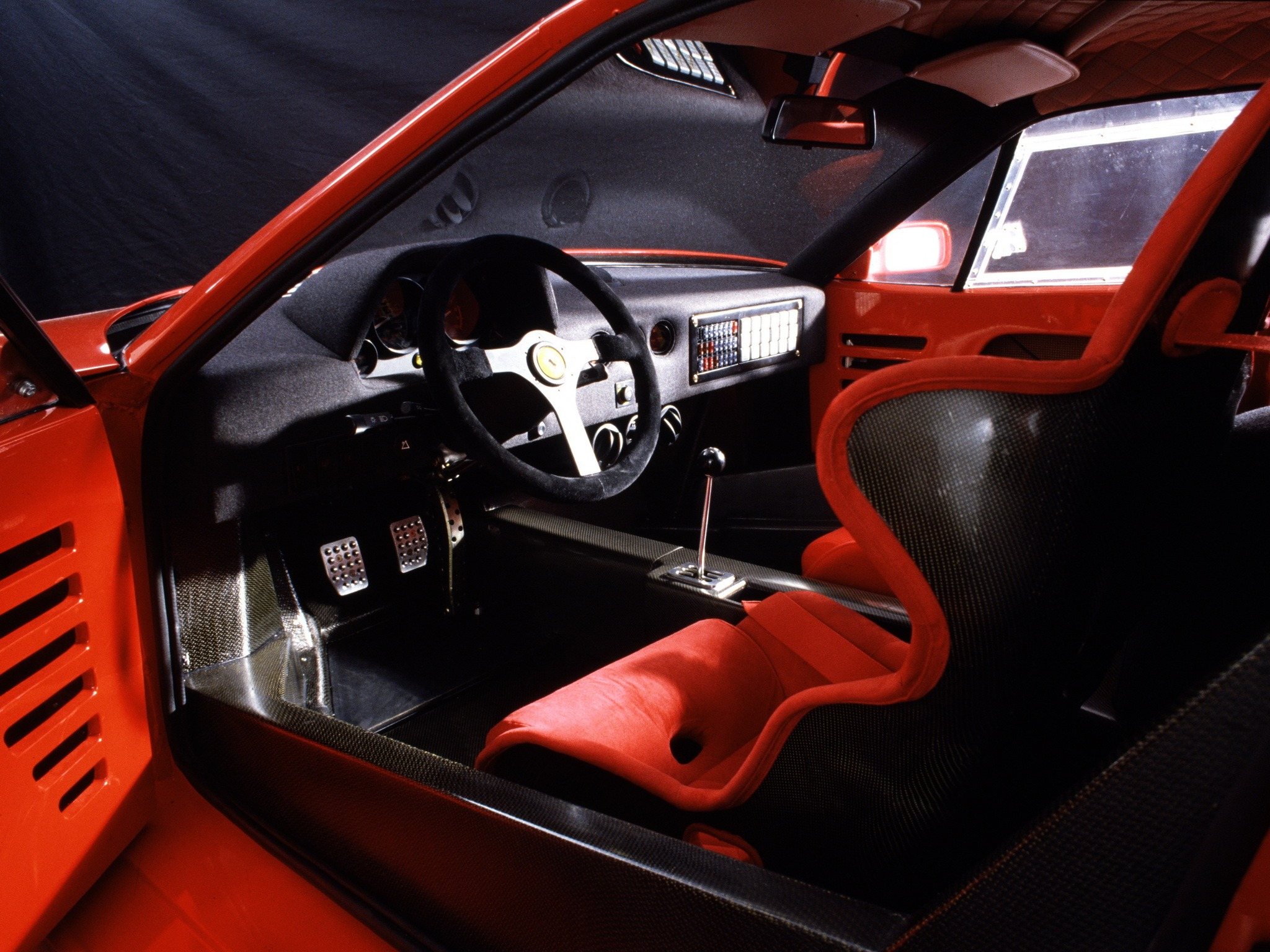 Ferrari F40 Prototype 1987 Old Concept Cars