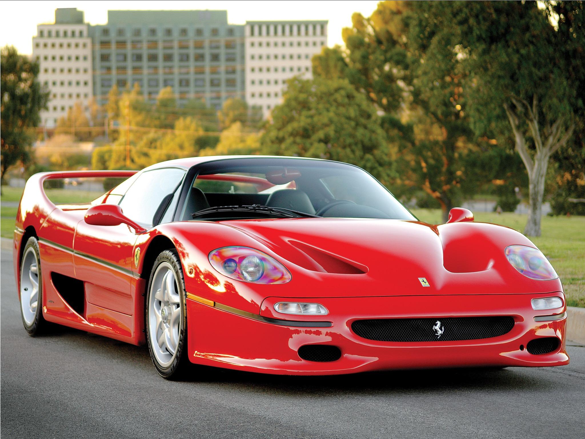 Ferrari F50 Preserial 1995 Old Concept Cars