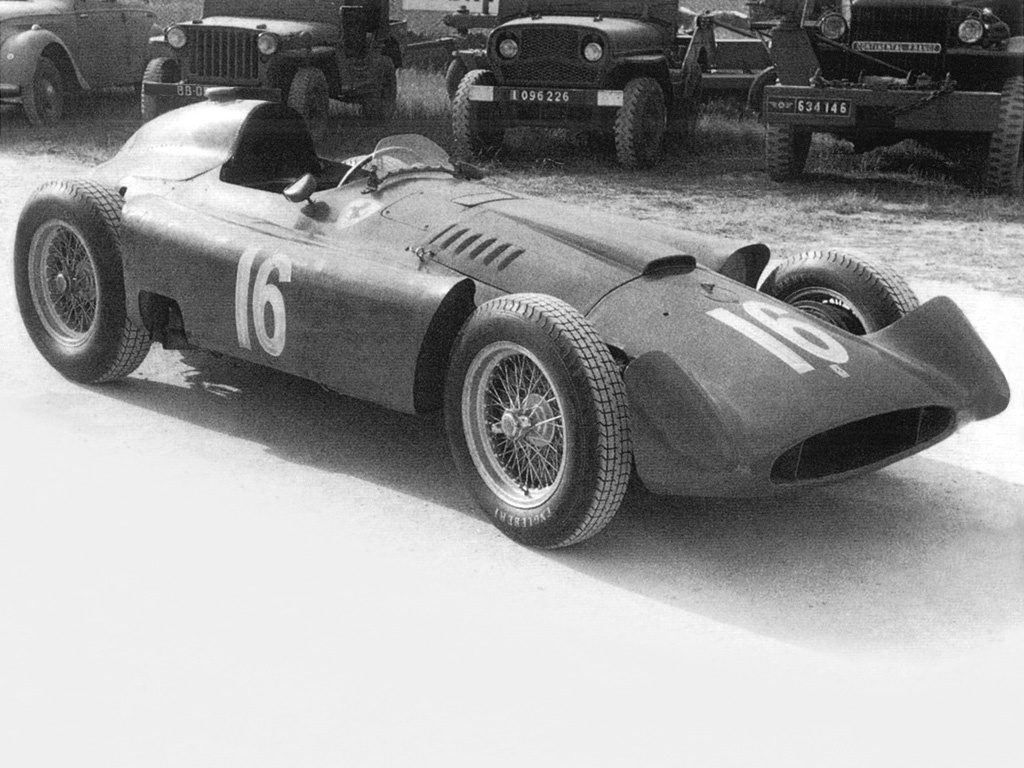 Ferrari Lancia D50 Streamliner (1956)
