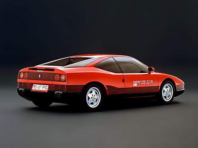 ferrari mondial ppg pace car 1987 old concept cars. Black Bedroom Furniture Sets. Home Design Ideas