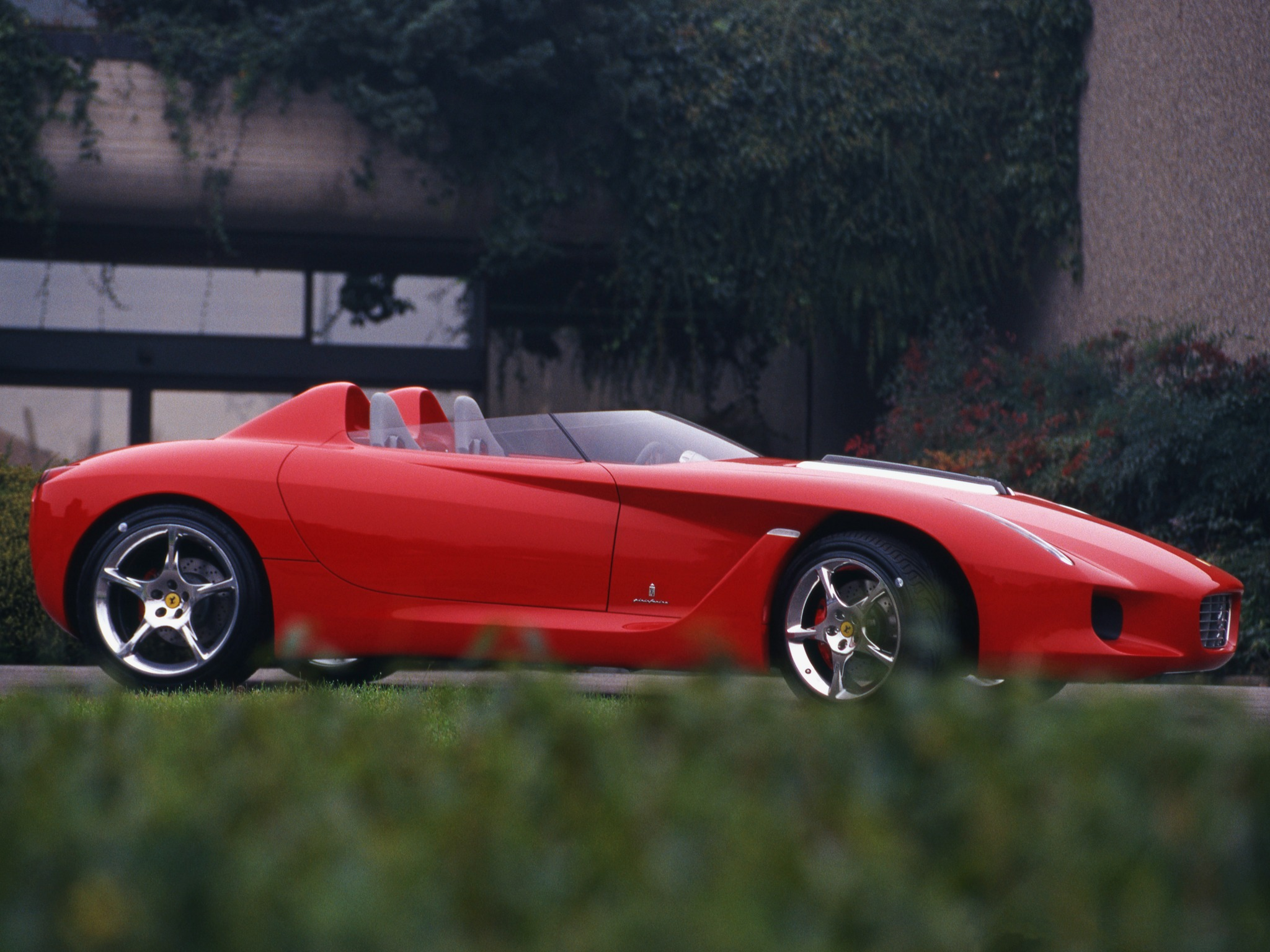 Top Fastest Cars >> Ferrari Rossa (2000) - Old Concept Cars