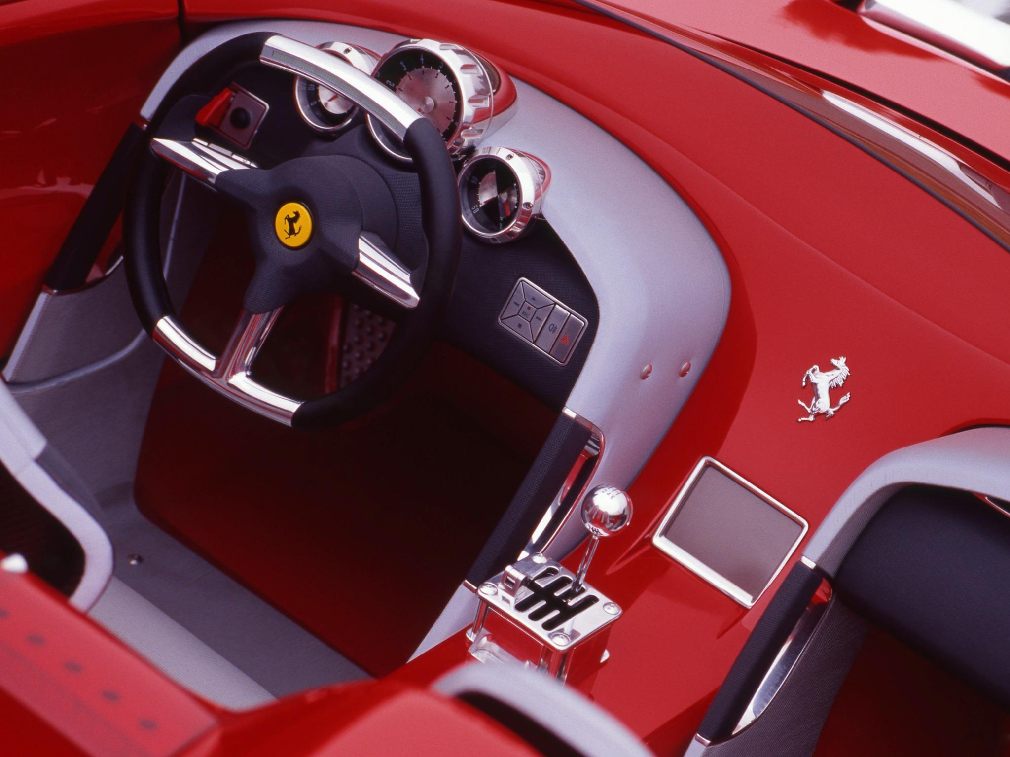 Ferrari Rossa 2000 Old Concept Cars