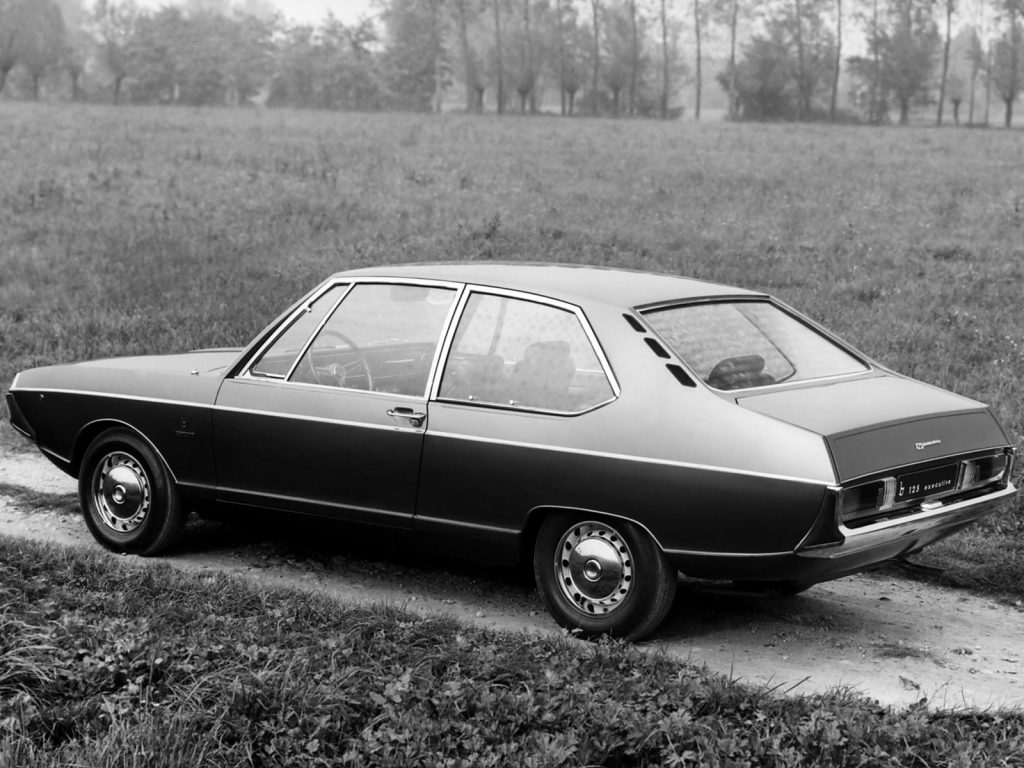 Fiat 125 Executive Concept (1967)