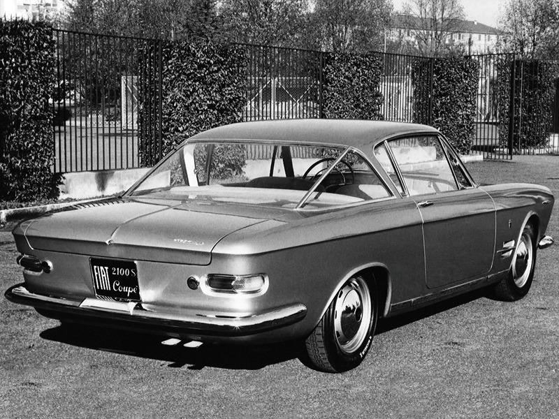 Fiat 2100 S Coupe Prototipo 1960 Old Concept Cars