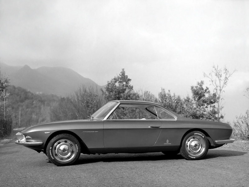 fiat 2300 s coupe speciale lausanne 1963 old concept cars. Black Bedroom Furniture Sets. Home Design Ideas