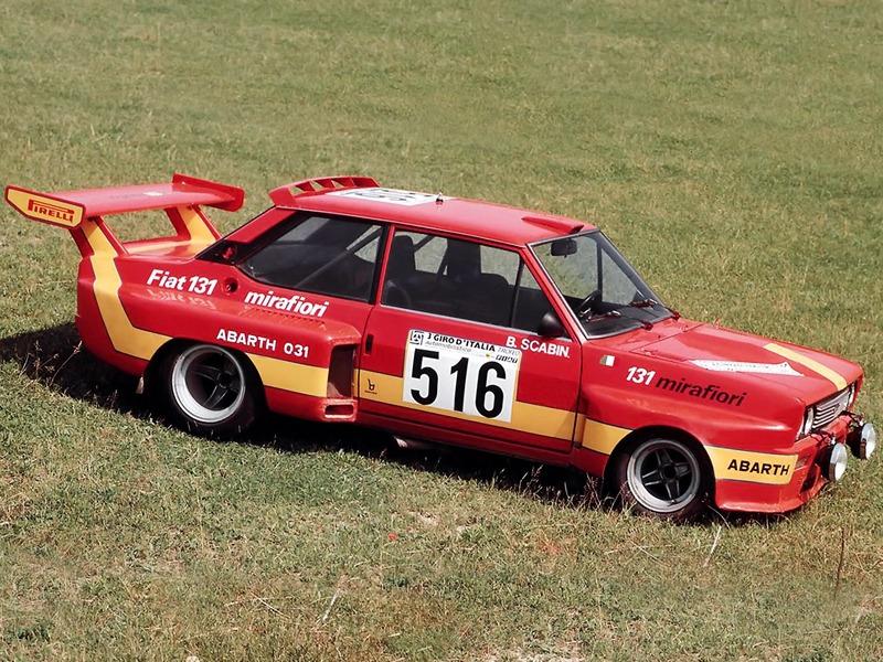 Fiat Abarth 131 (1975)