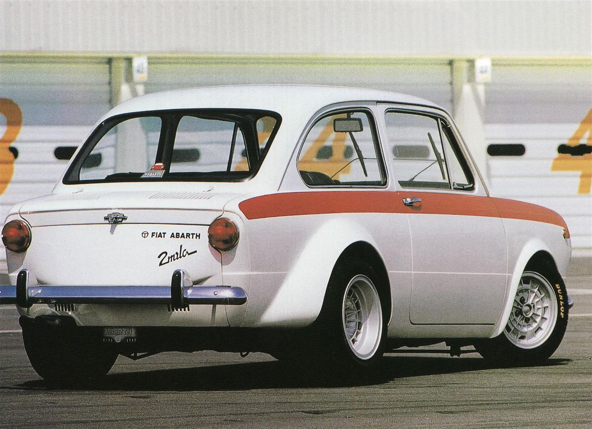 Fiat Abarth Ot 2000 Mostro 1964 Old Concept Cars
