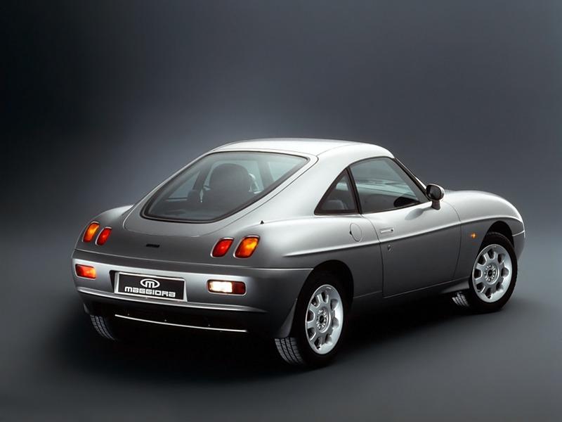 2004 Jeep Hardtop Fiat Barchetta Coupe Concept by Maggiora (1996) – Old ...