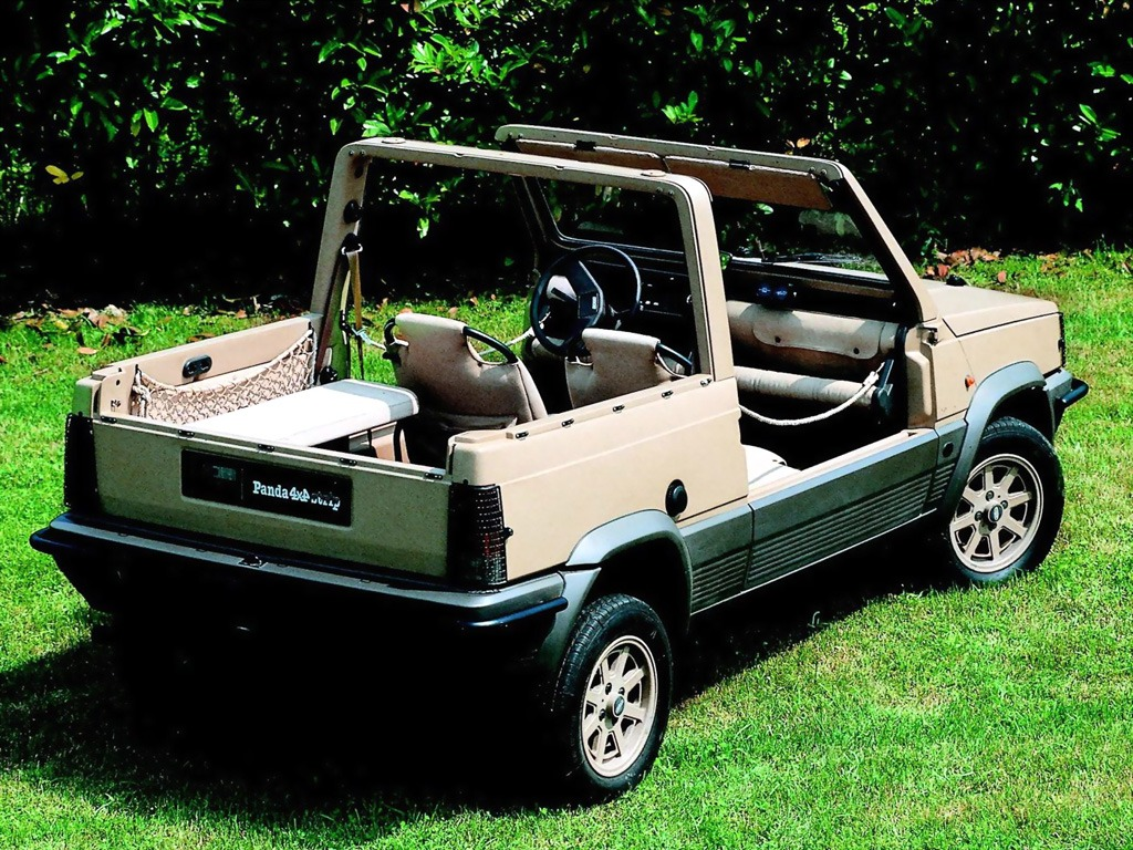 fiat panda 4x4 strip 153 old concept cars. Black Bedroom Furniture Sets. Home Design Ideas