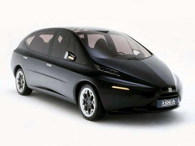 Fiat Vuscia Concept 1996 Old Concept Cars