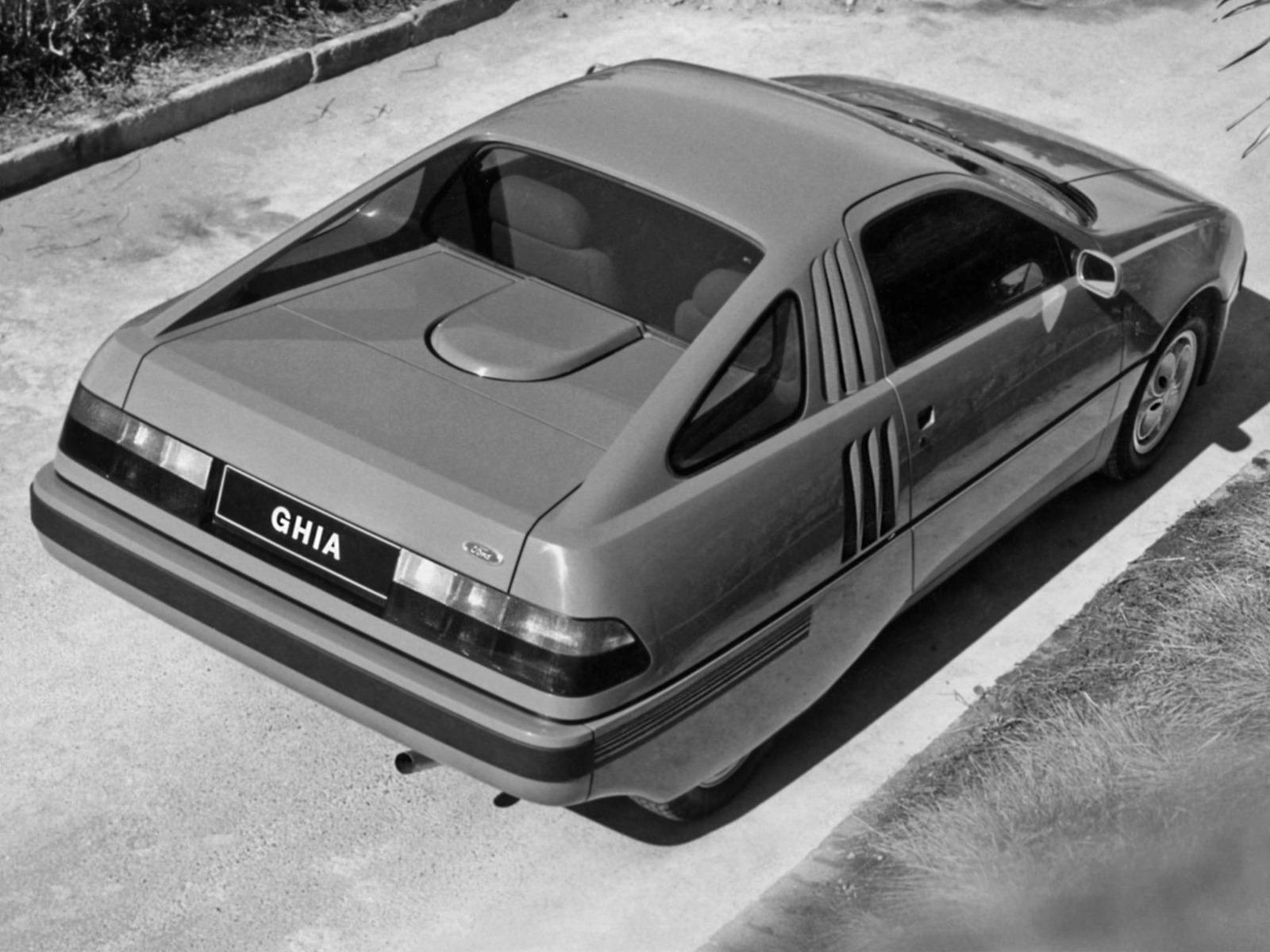 Volvo Near Me >> Ford Brezza Concept (1982) - Old Concept Cars
