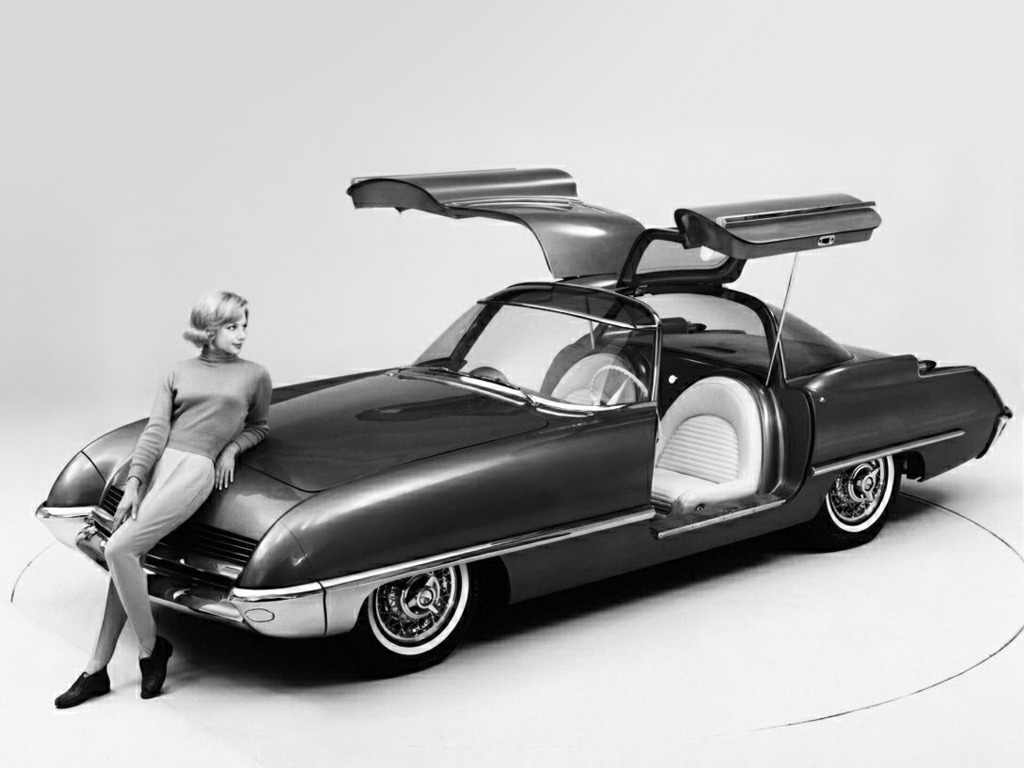 Ford Cougar Concept Car 1962 Old Concept Cars