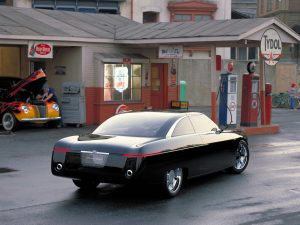 Ford Forty-Nine Concept vehicle.