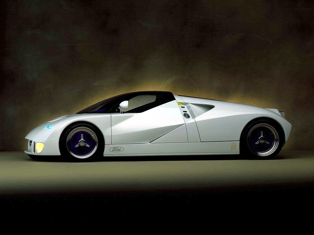 Used Pickup Trucks >> Ford GT90 Concept (1995) - Old Concept Cars