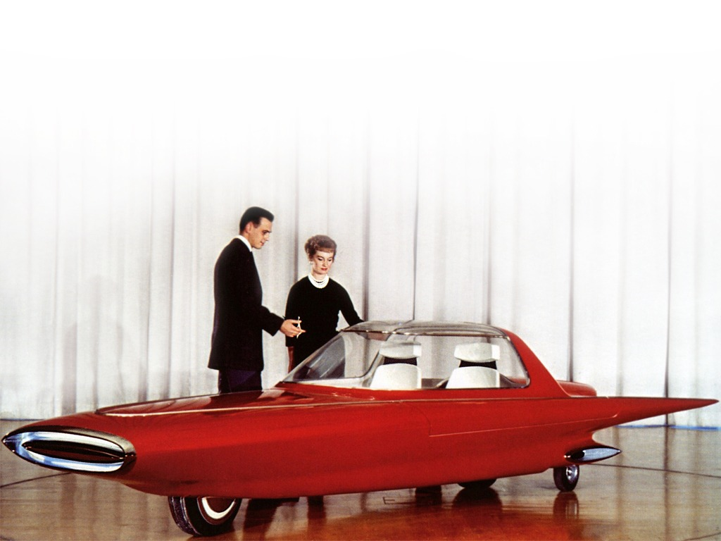 Ford Gyron Concept Car (1961) – Old Concept Cars