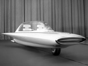 ford gyron concept car 3 300x225 Ford Gyron Concept Car (1961)