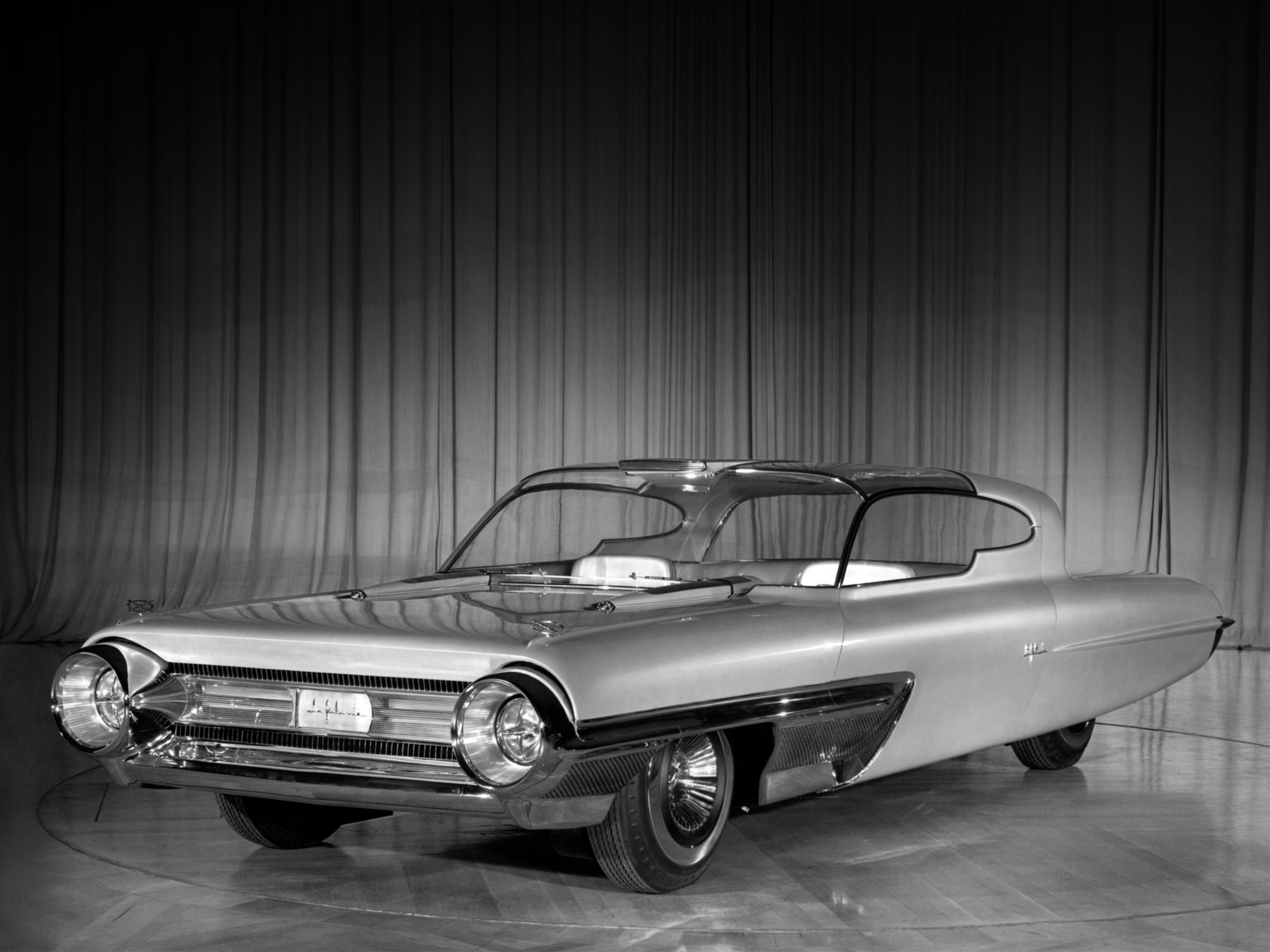 Ford La Galaxie Concept Car (1958) – Old Concept Cars