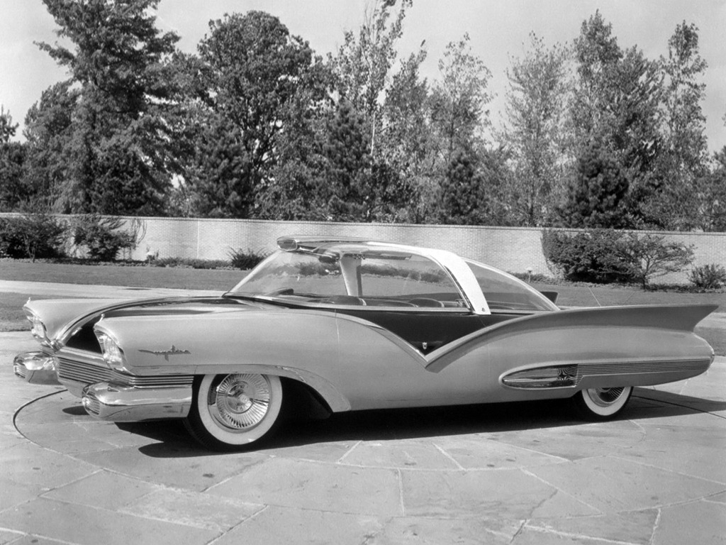 Toyota Dealer Near Me >> Ford Mystere Concept Car (1955) - Old Concept Cars