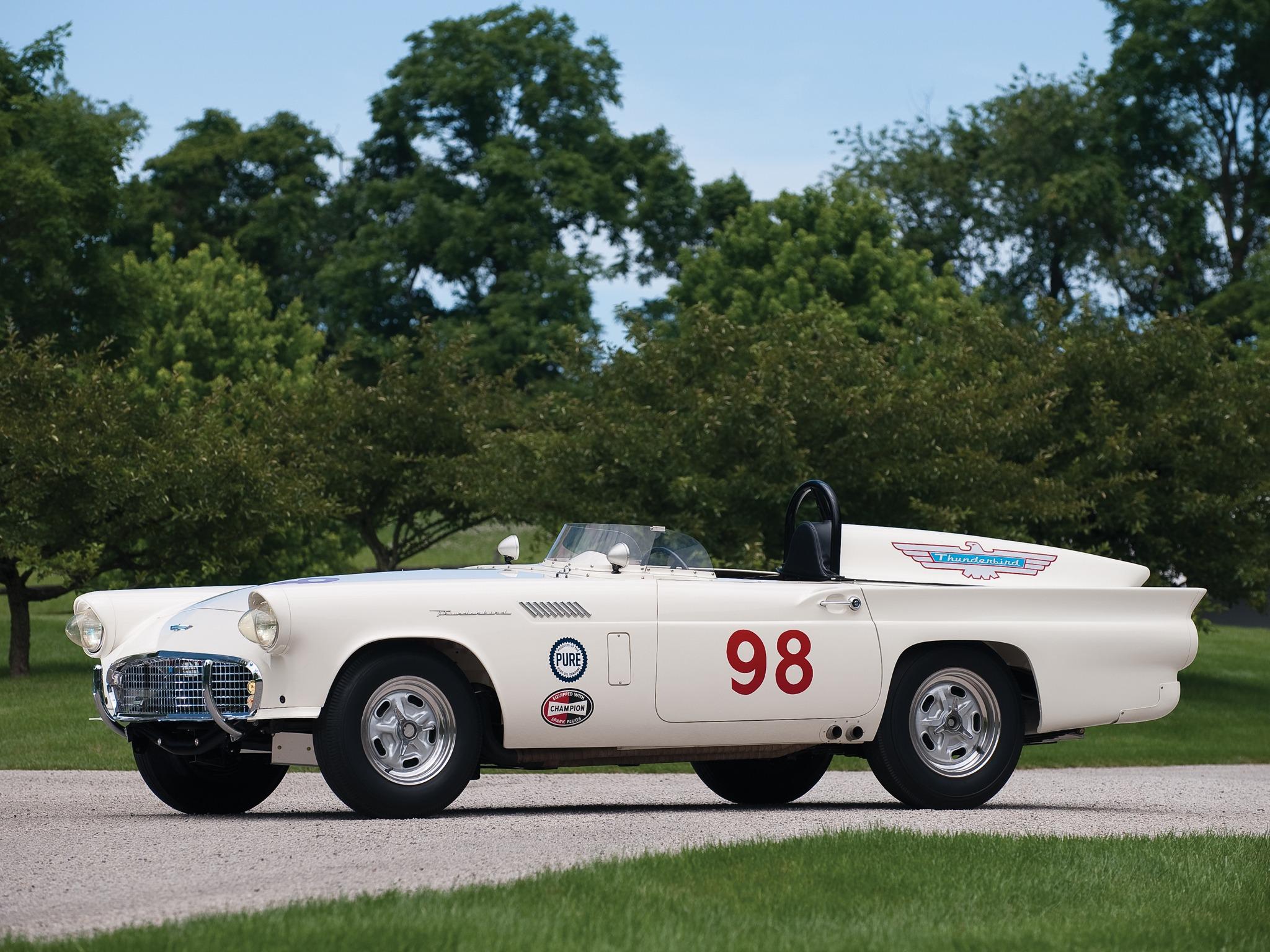 Ford Thunderbird Experimental Race Car (1957) – Old Concept Cars