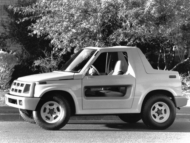geo tracker hugger concept 1990 old concept cars