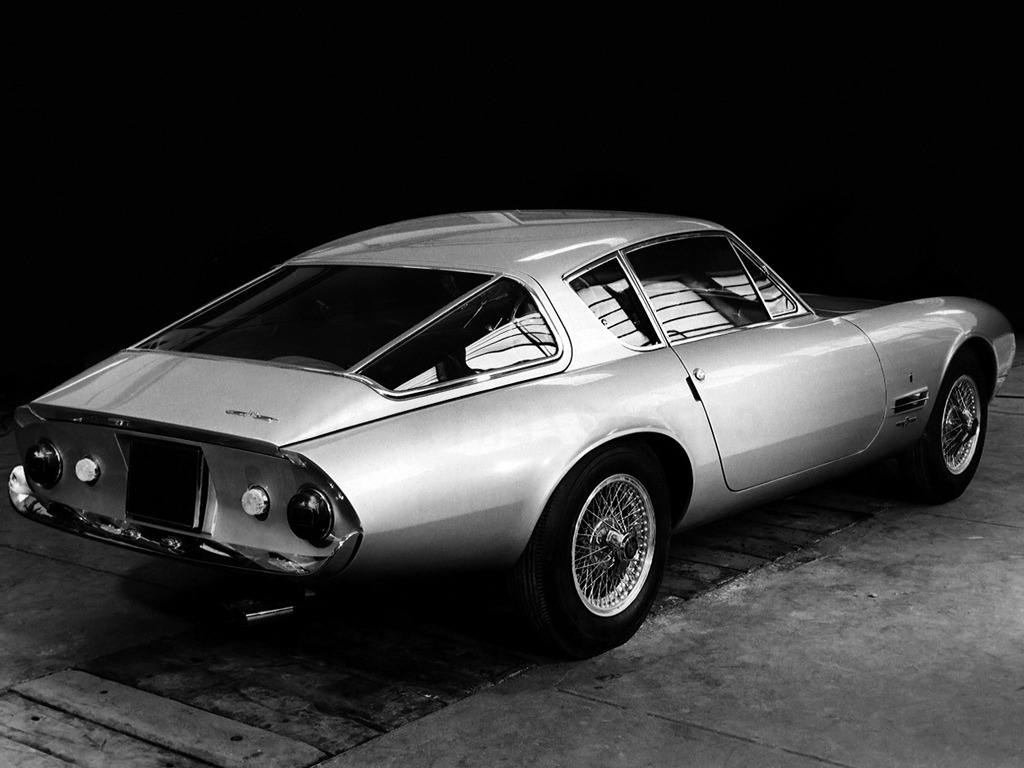 Loan Bad Credit >> Ghia G230S Prototipo (1963) - Old Concept Cars