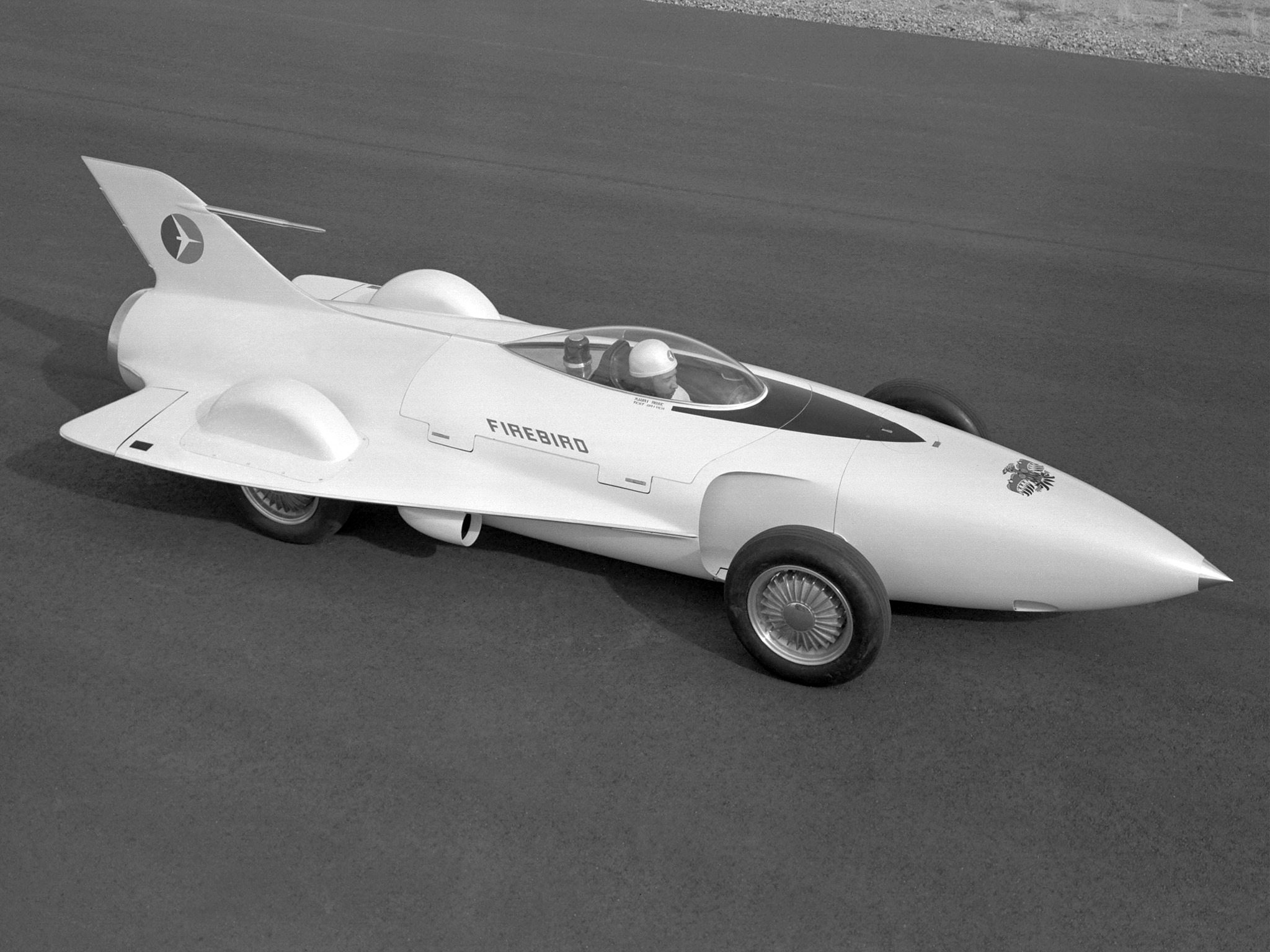 GM Firebird I Concept Car (1953) - Old Concept Cars