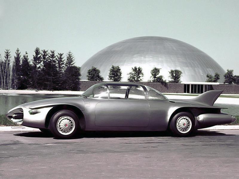 gm firebird ii concept car 1956 old concept cars