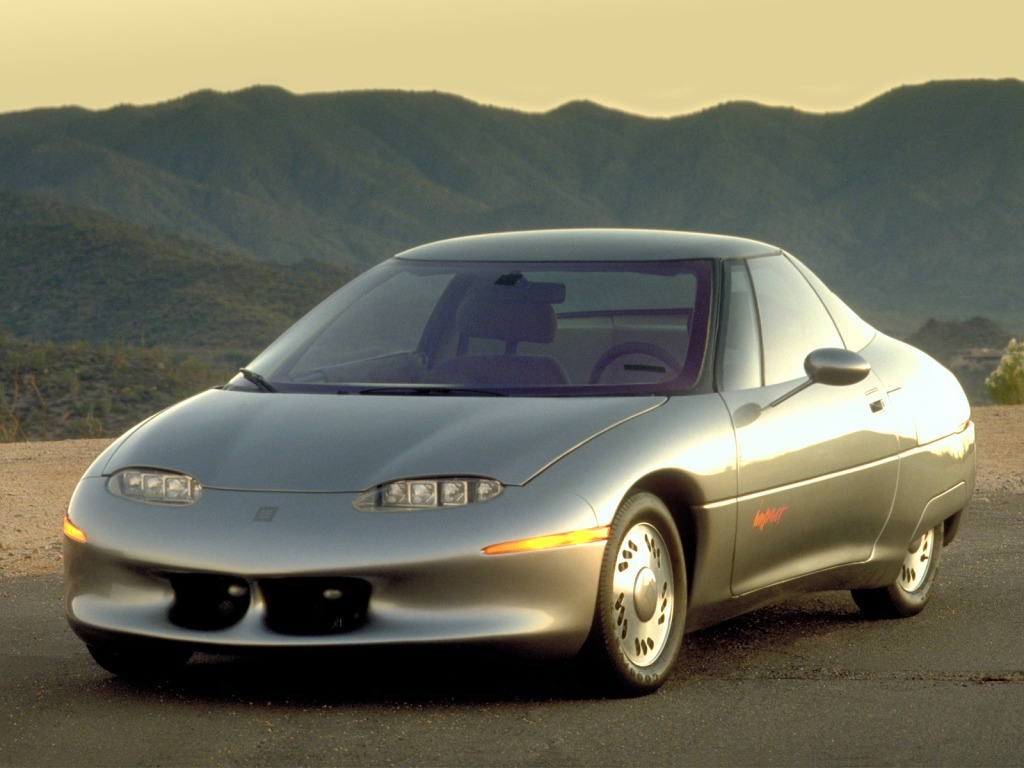 General Motors Impact 1990 Old Concept Cars
