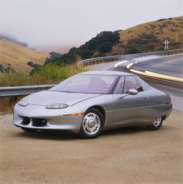 Late In 1996 General Motors The Gest Of America S Three Car Makers Put Ev1 Its First Electric Vehicle Into Production