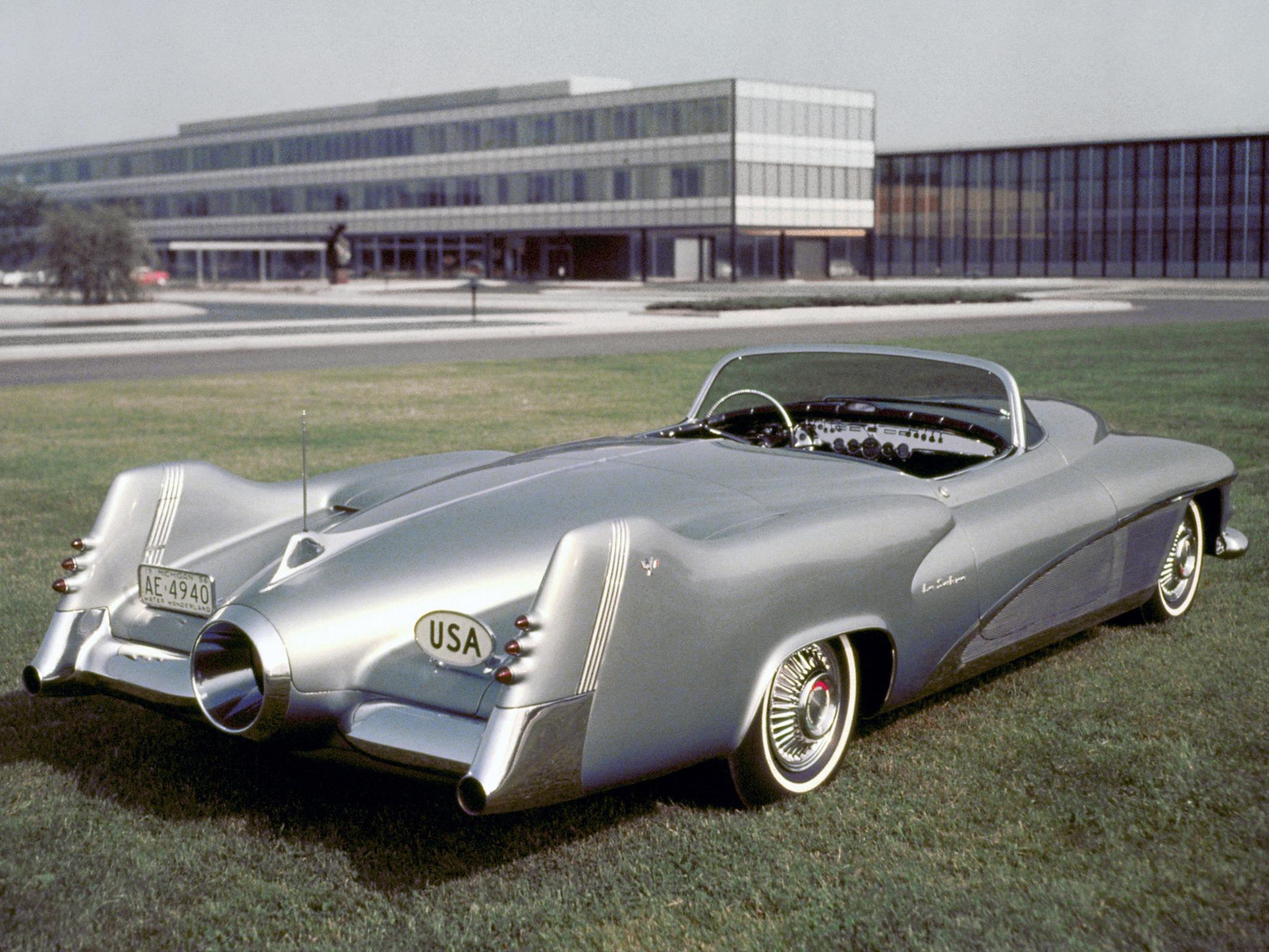 General motors lesabre 1951 old concept cars for General motors new cars