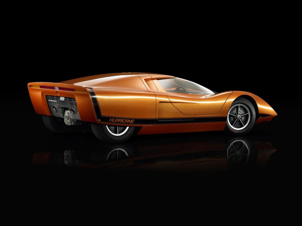 Monster Porsche Hurricane Concept Design: Holden Hurricane (1969)
