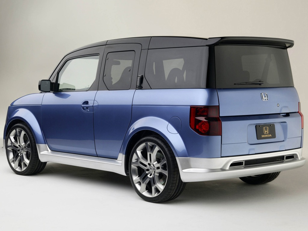 Honda Element Concept >> Honda Element Concept 2003 Old Concept Cars