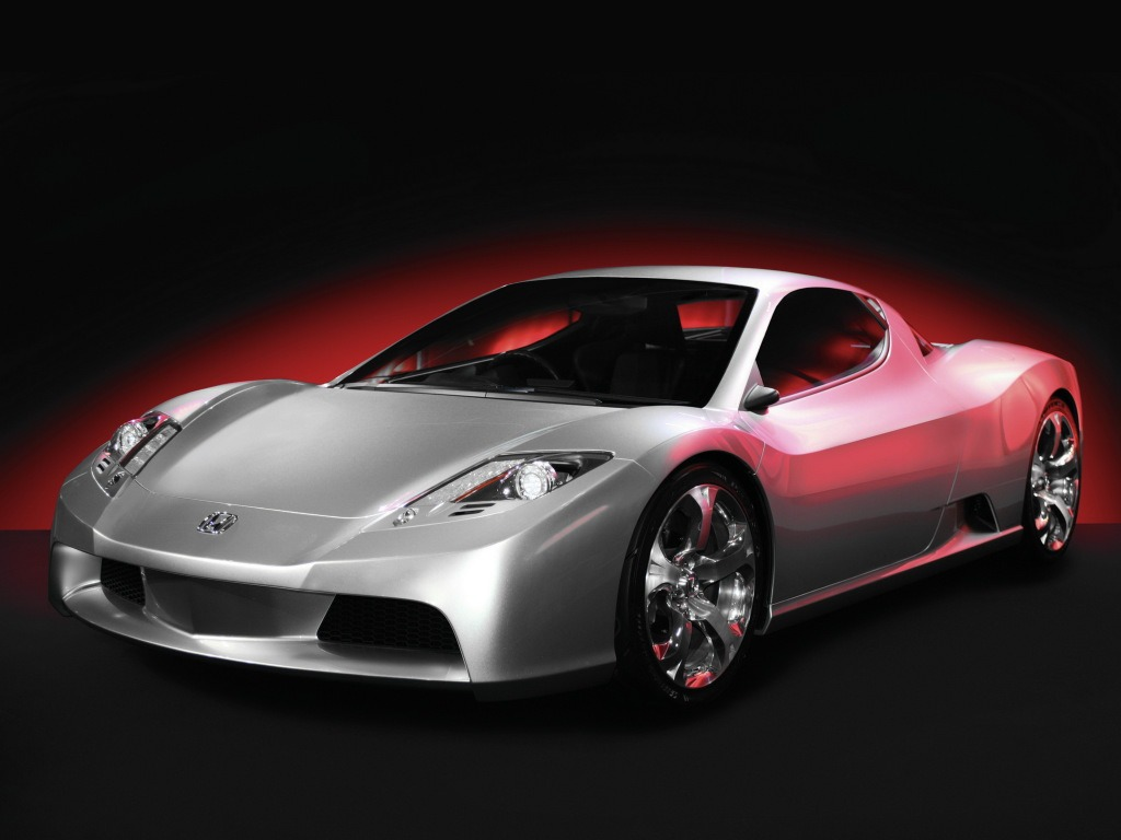 Top Fastest Cars >> Honda HSC Concept (2003) - Old Concept Cars