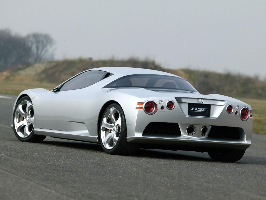 Honda hsc concept 2003 old concept cars for Future honda cars