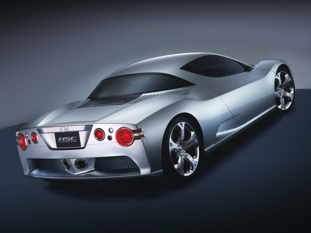 Top 10 Fastest Cars >> Honda HSC Concept (2003) - Old Concept Cars