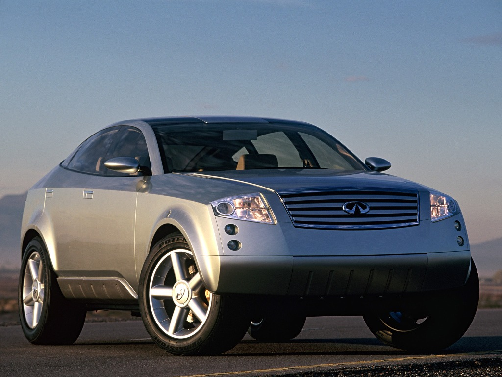 Infiniti FX45 Concept (2001) – Old Concept Cars